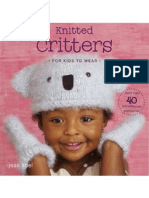 KNIT - Knitted Critters for Kids to Wear [Hats Scarves and Mitts]