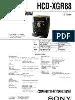 HCD-XGR88