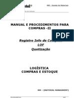 Manual Compras II