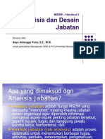 Handout 2 Analisis Dan Desain Jabatan
