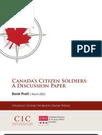 Canadas Citizen Soldiers