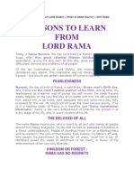 What is Special About Rama