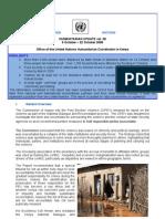 9 - 22 October 2008 | OCHA Kenya Humanitarian Update Volume 38 | Ms Word Format
