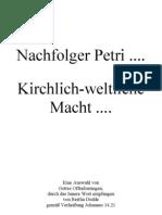227 Nachfolger Petri .... Kirchlich-Weltliche-Macht ....