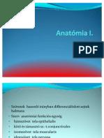 Anatómia I