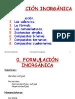 pp formulacion inorganica