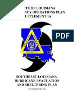EOP Louisianna Emergency Response Plan