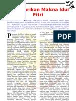 IIC on the Wall - Melestarikan Makna Idul Fitri