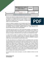 Reporte de Visita Industrial IDESA