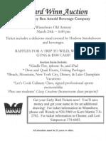 Auction 2012 Info