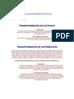 TRANSFORMADOR DE POTENCIA