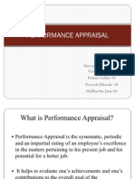 Performance Appraisal.