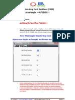 Módulo Help-Desk - Notas Atualização - Set-2011