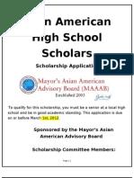 MAAAB 3-2012 Scholarshipform