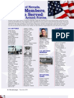 State Bar of Nevada Honors Members Who've Served in the U.S. Armed Forces