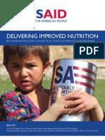 Delivering Improved Nutrition