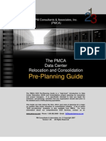 PMCA Data Center Relocation (DCR) Pre-Planning Guide
