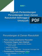 Bab 1 - Sejarah an Perundangan Islam Zaman Rasulullah Sehingga Zaman Bani Umaiyyah