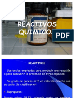 Reactivos Quimicos Ind Qui