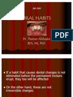 341 Oral Habits