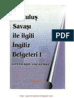 Gotthard Jaeschke Kurtulus Savasi Ile Ilgili Ingiliz Belgeleri 1