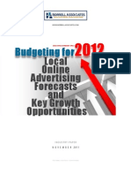 Local Online Ad Forecasts and Growth Opptys 2012