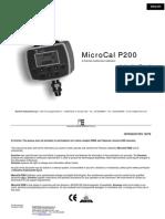 MicroCal P200