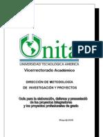 Guia de Proyectos INTEGRAL 2008