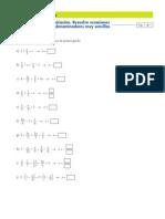 Repaso ecuaciones 3º ESO