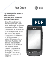 Lg Optimus One Manual