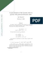 Ilja Schmelzer- A generalization of the Lorentz ether to gravity with general-relativistic limit