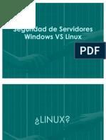 Diapositivar Taller Windows vs Linux