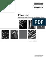Rockwood Price Book 2012