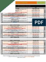 Pacific Oaks Academic Calendar 2012-2013