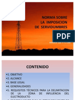 Norma Sobre La Imposicion de Servidumbres Power Point[1]