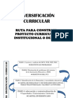 Diversificación Curricular Tambogrande_Ruta 2011