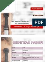 Pterygium Gr III + Astigmat Myope Simplek