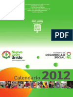 Calendario de valores 2012