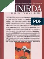 Ahmet Bozkurt, Jacques Derrida, Déconstruction ve Yazının Ertelenmiş Zamanı, SINIRDA, Ağustos-Ekim 2008, sayı 11