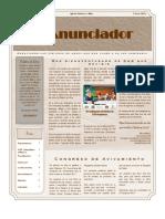 El Anunciador - Enero 2012. Anunciando las virtudes de aquel que nos llamo a su luz admirable