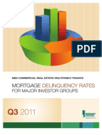 MBA Q3 2011 Mortgage Delinquency Rates