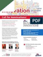 Call for Nominations UKTI Britweek BI Awards 2012