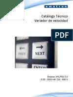 Emotron FDU-VFX2-0 Technical Catalogue 01-4948-04 ES