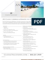 Classic Vacations All Inclusive Caribbean and Bermuda Resorts
