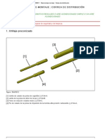207 (A7) - B1EG6BK1 - Desmontaje-montaje _ Correa de distribución