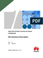 Huawei OptiX RTN 910 Radio Transmission System IDU Hardware Description