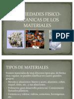Profiedades Fisico-mecanicas de Los Materiales 2