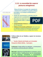 COMPETENCIAS POSTURAS ANTAGONICAS