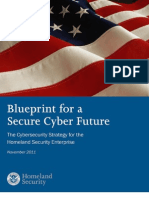 #HomelandSecurity Blueprint for a Secure Cyber Future 2011