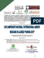 LVIII Abierto Mexicano 16 Ene 2012 FINAL